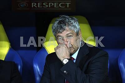 Mircea Lucescu coach sr.Turtsii