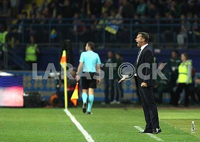 Andrey Shevchenko coach sb. Of Ukraine