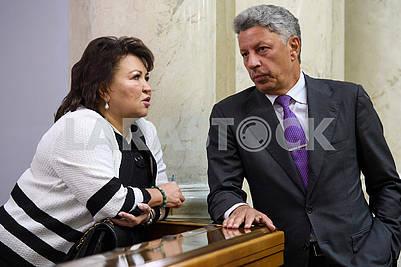 Tatiana Bakhteeva, Yuri Boyko