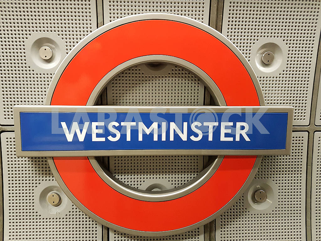 Westminster Underground Sign — Image 61959