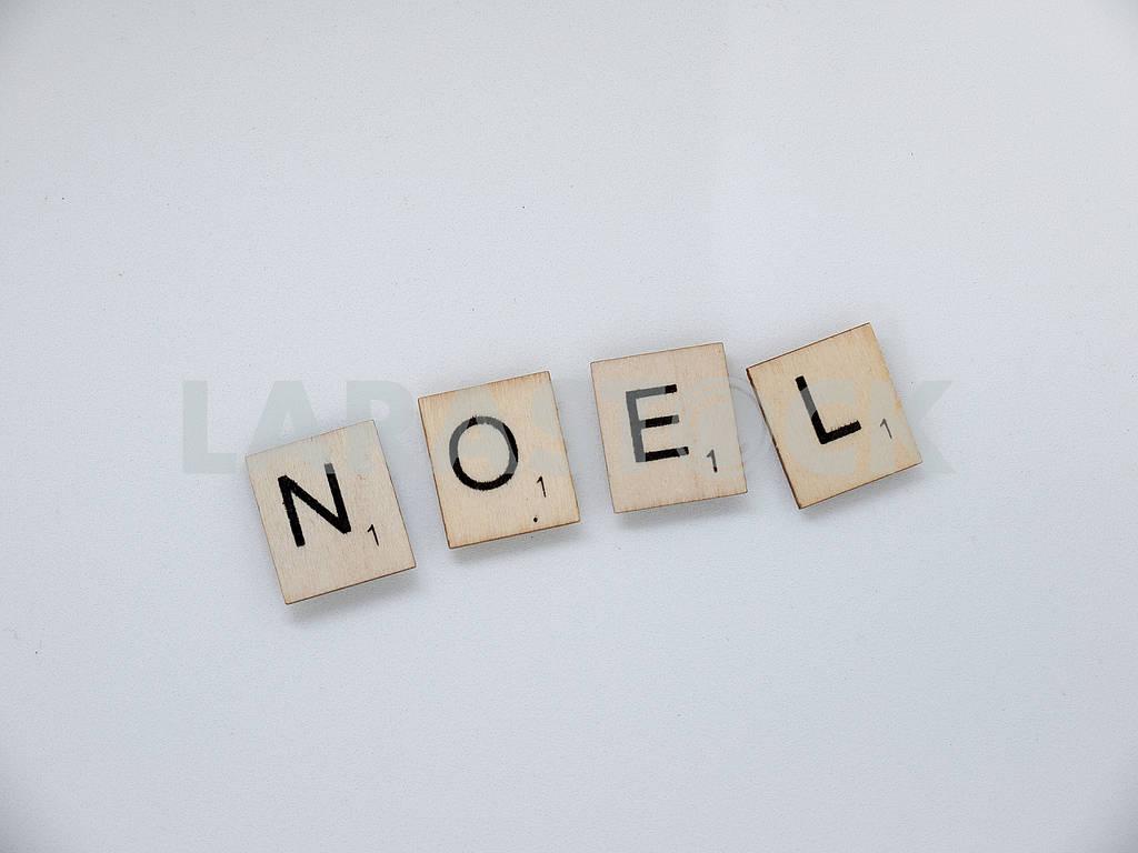 Scrabble Tiles: Noel — Image 61968