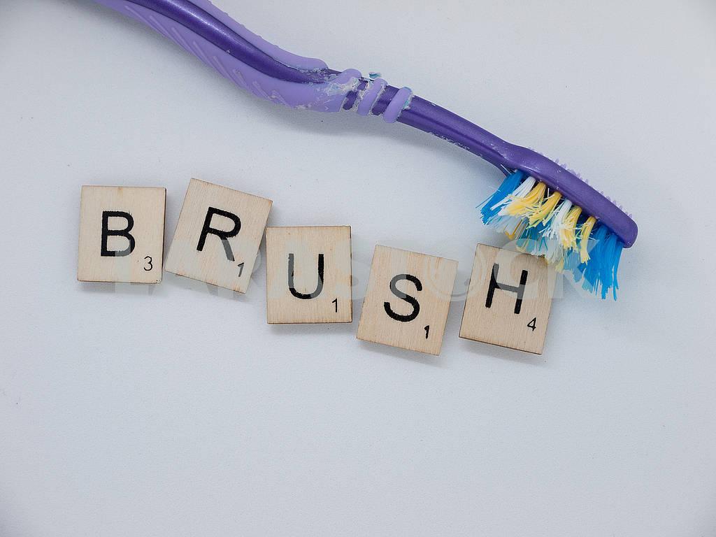 Scrabble Tiles: Brush — Image 61969
