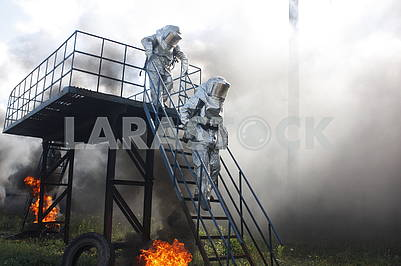 Training of firefighters