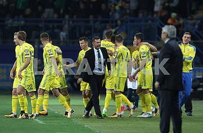 Ukrainian team, Andrey Shevchenko, Mircea Lucescu