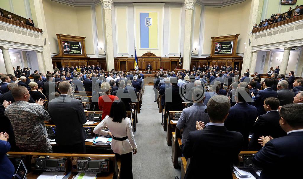 Petro Poroshenko in the Verkhovna Rada — Image 62049