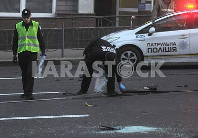 Взрыв машины на Бессарабке