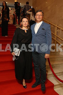 Slosser Dmitry with his wife, plastic surgeon