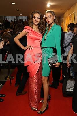 Alexandra Kucherenko and Alina Baikova