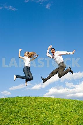 Пара прыжки