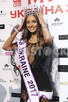 Мисс Украина 2017 Полина Ткач