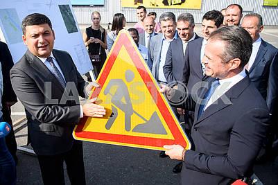 Vladimir Groisman and Slavomir Novak