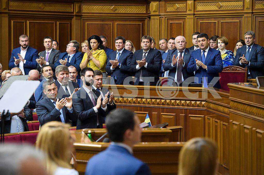 Ministers in the Verkhovna Rada — Image 62255