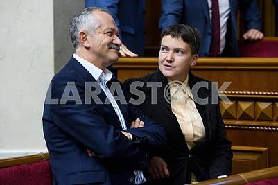 Виктор Пинзенык, Надежда Савченко