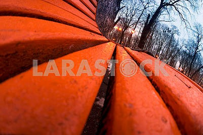 Скамейки в Мариинском парке