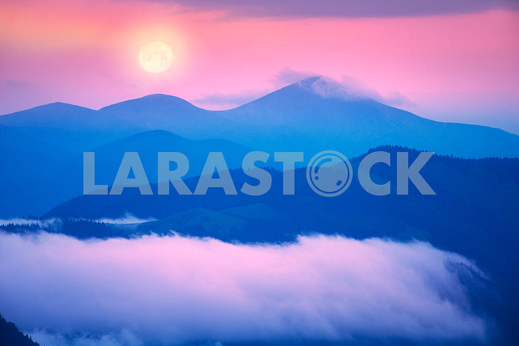 Fog near Goverla — Image 62302