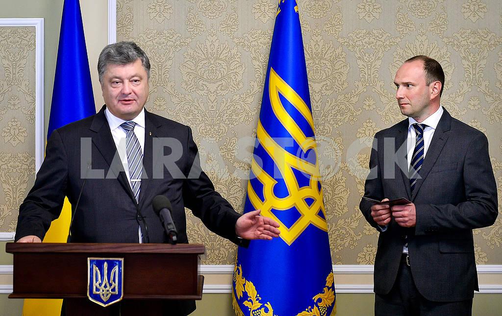 Petro Poroshenko and Yegor Bogzok — Image 62336