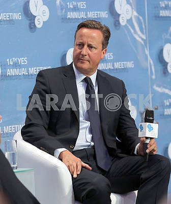 David Cameron, British politician