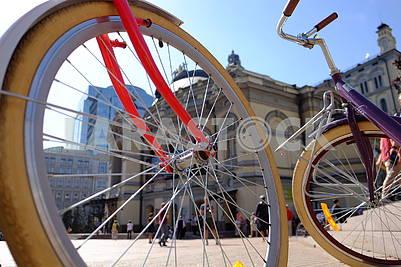 Велосипеды у оперного театра