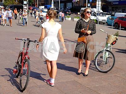 Bicycle participants