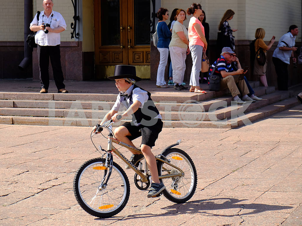 Member of the bicycle parade — Image 62467