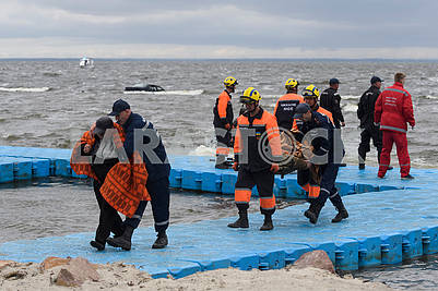 Exercises of rescuers SSE