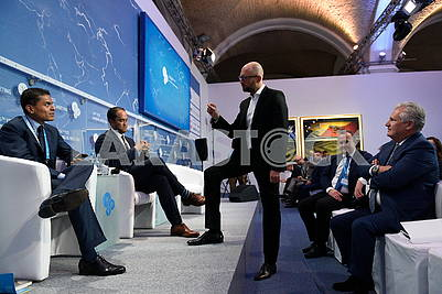 Arseniy Yatsenyuk at the YES Summit