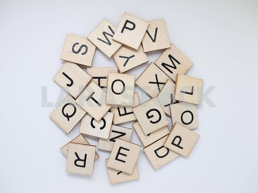 Куча деревянных писем — Изображение 62635