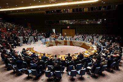 Участники дебатов в ООН