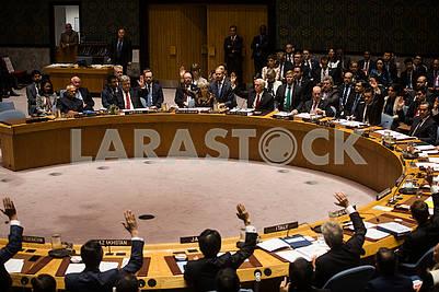 Participants in the UN debate