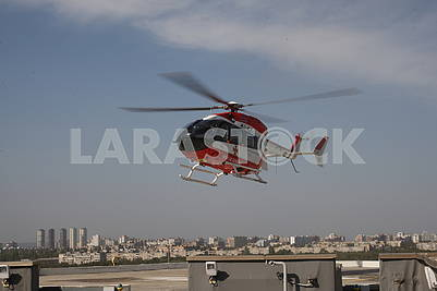 Helicopter of SSNS