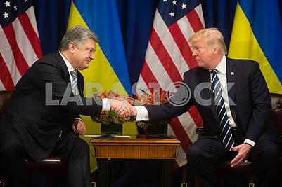Петр Порошенко, Дональд Трамп