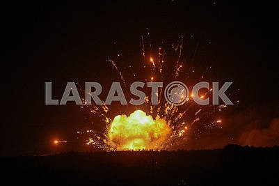 Explosions of the Defense Ministry's arsenal