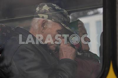 Evacuation of the inhabitants of Kalinovka