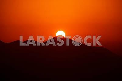 Говерла на закате дня