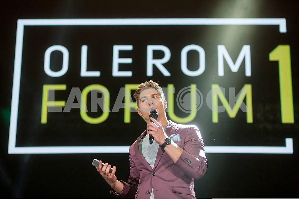 Leading Vladimir Ostapchuk at the Olerom Forum 1. — Image 63060