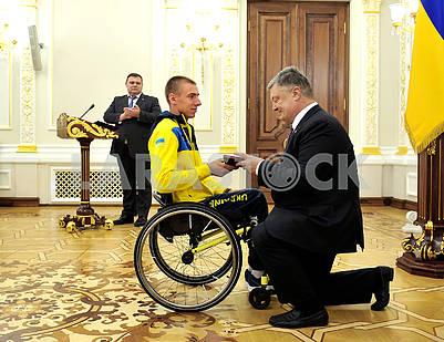 Roman Panchenko and Petro Poroshenko