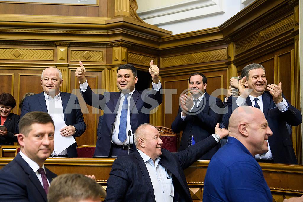 Members of the Cabinet in the Verkhovna Rada — Image 63157