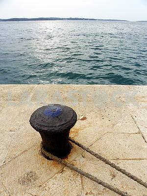 Brioni's harbour details,Adriatic coast,Croatia,4