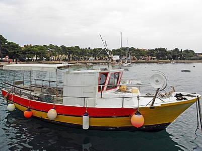 Детали гавани Фазаны, Адриатическое побережье, 1