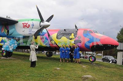 Art object - AN-24 aircraft