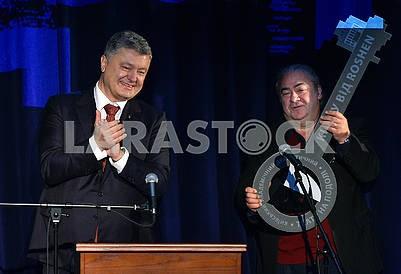 Petro Poroshenko and Vitaly Malakhov