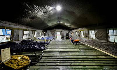 Modular army tent