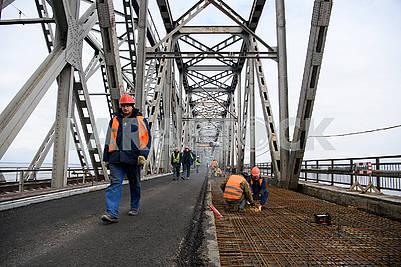 Reconstruction of the bridge