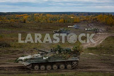 Ученья танкистов