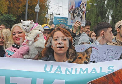 March for the rights of animals