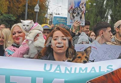 Марш за права животных
