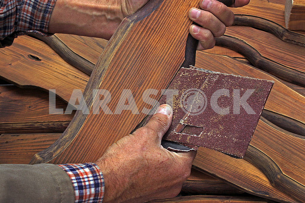 Grinding of wooden details — Image 63508