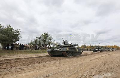 T-72 Tanks