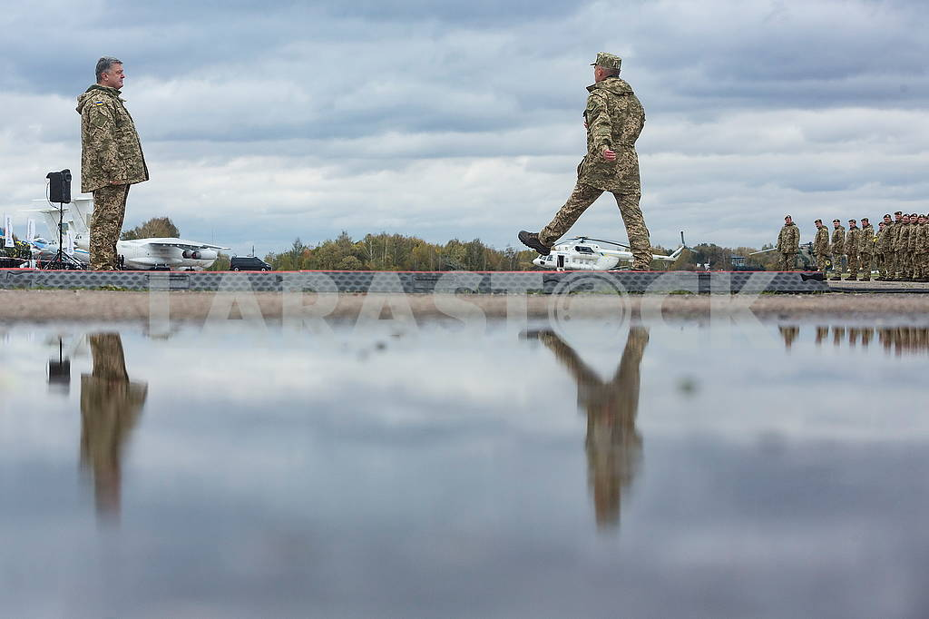 President of Ukraine at the training ground — Image 63528
