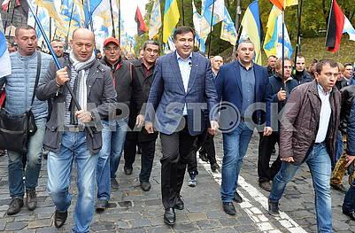 Supporters of Saakashvili